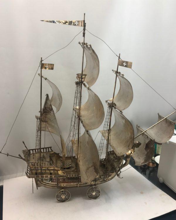 Antique_Sterling_Silver_Neff_Nef_ship