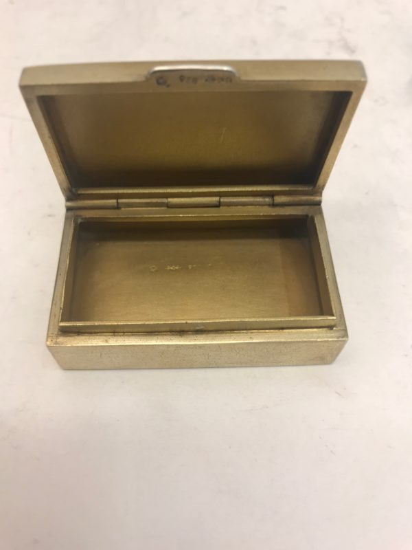 Silver and enamel box 3