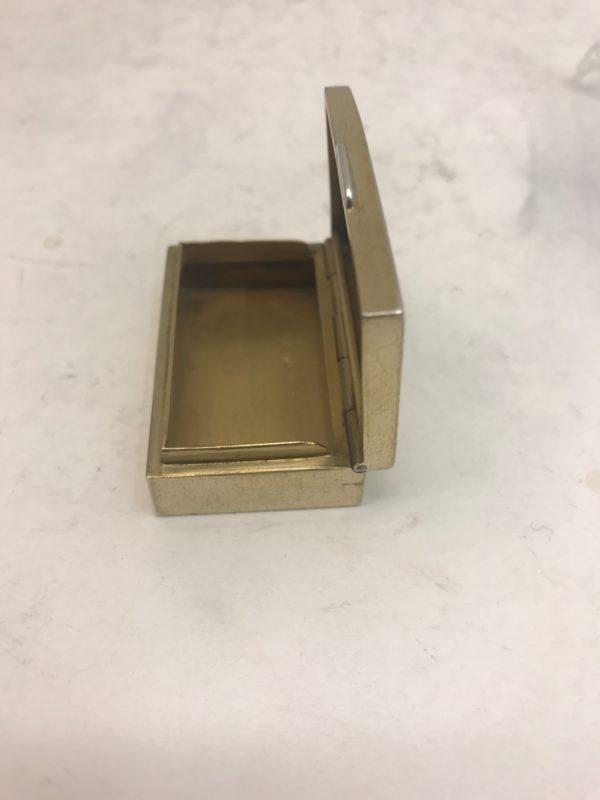 Silver and enamel box 4