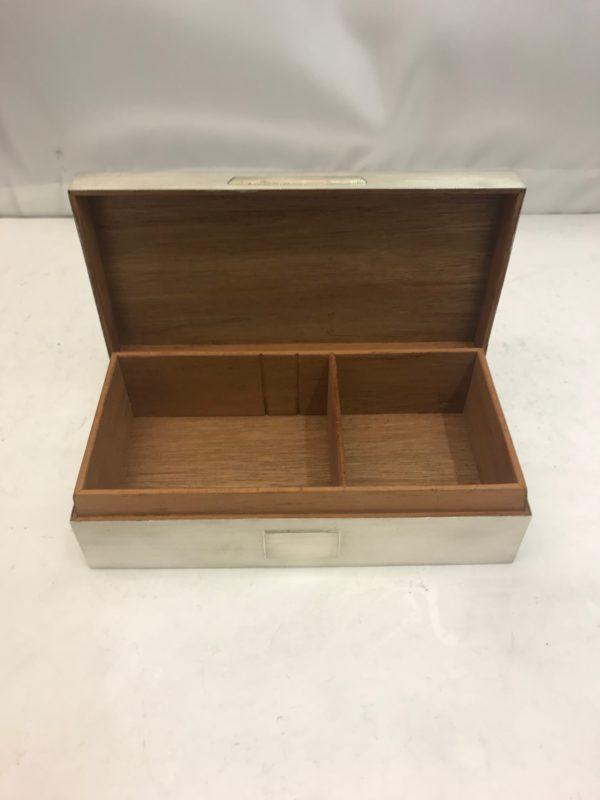 Silver Cigar Box 2