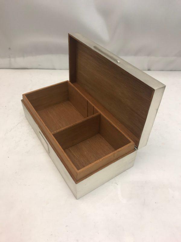 Silver Cigar Box 3