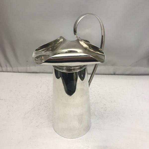 Unusual Silver water jug
