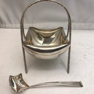 Charming Silver Victorian Bowl