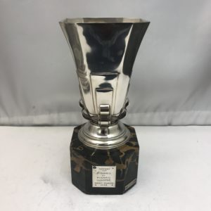 Silver and Marble Trophy