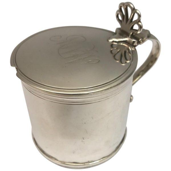 George III Silver Mustard Pot