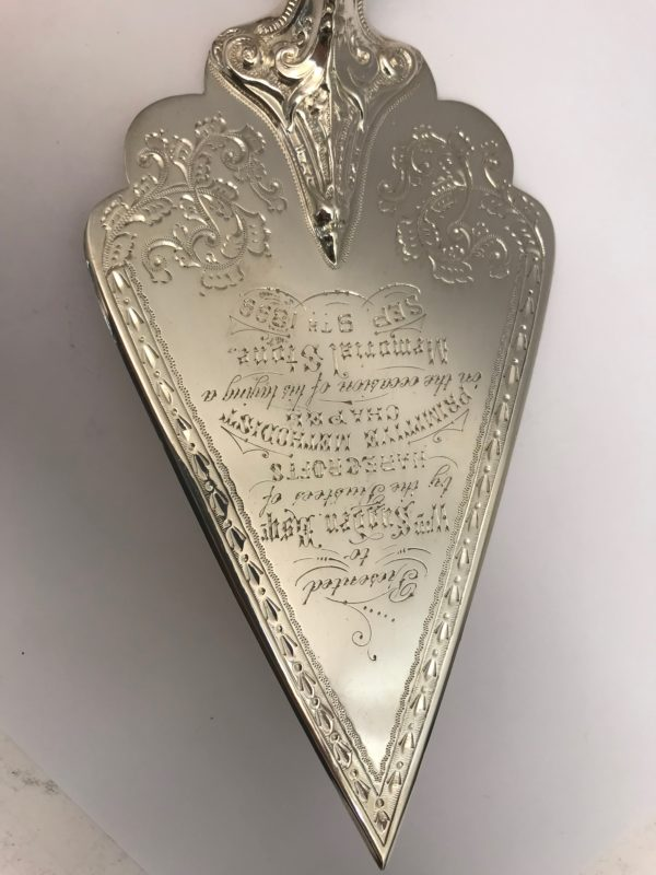 Antique Silver trowl