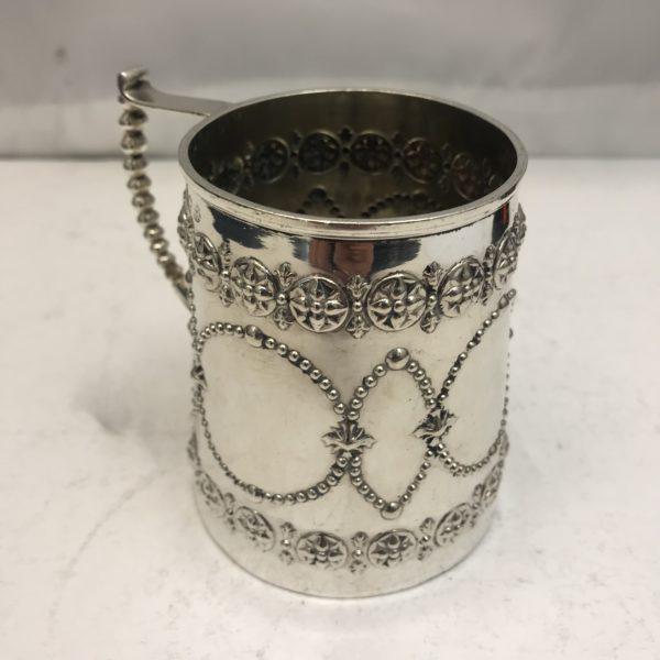 Antique Silver Mug 2