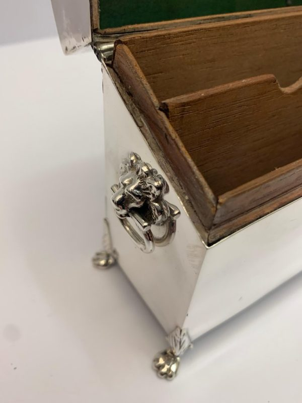 Antique Silver Bridge Box