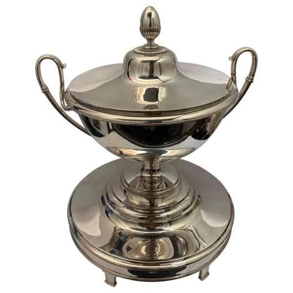 Large Silver Australian Soup Tureen, circa 1810 | Kalms Antiques