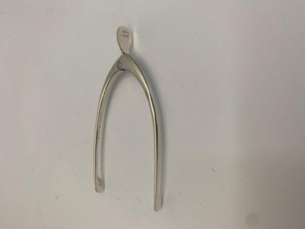 Small Pair of Silver Sugar Nips