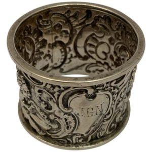 19th Century Silver Napkin Ring