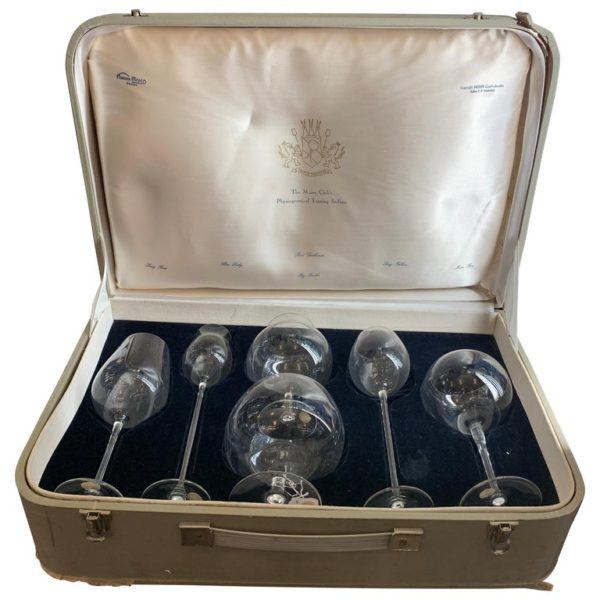 Set of Six Glass Snifters by Chocolaty Frantisek, Chezch Republic