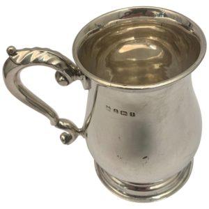Edwardian Silver Mug by John Edward Wilmot