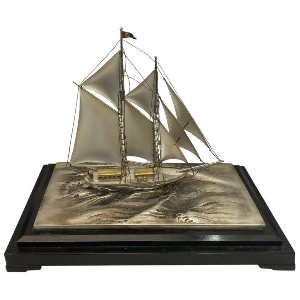 Silver Sailing Boat of Angus 5