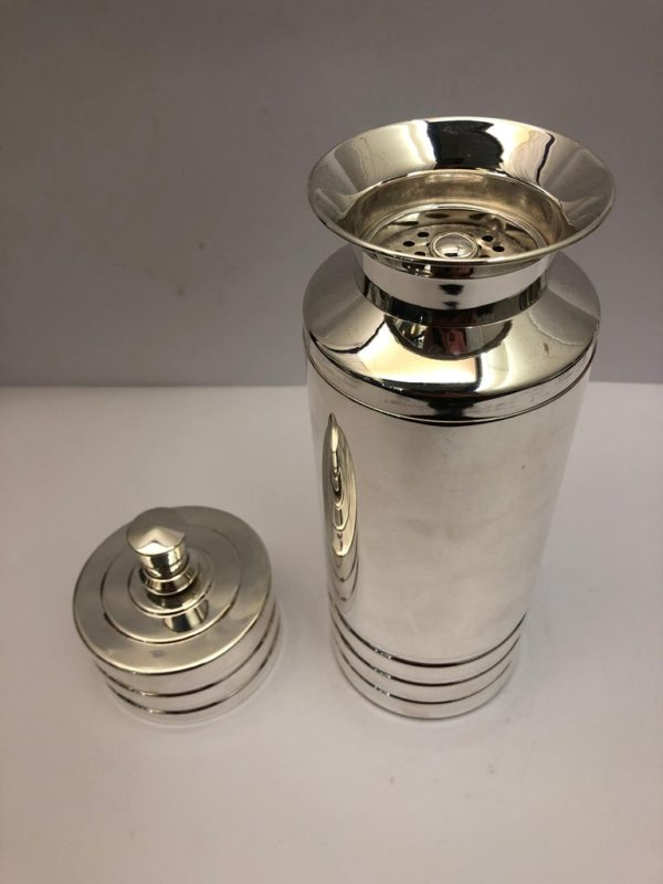 Silver Plate Cocktail Shaker - main