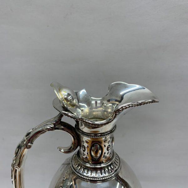 19th Century Silver Jug - Lid