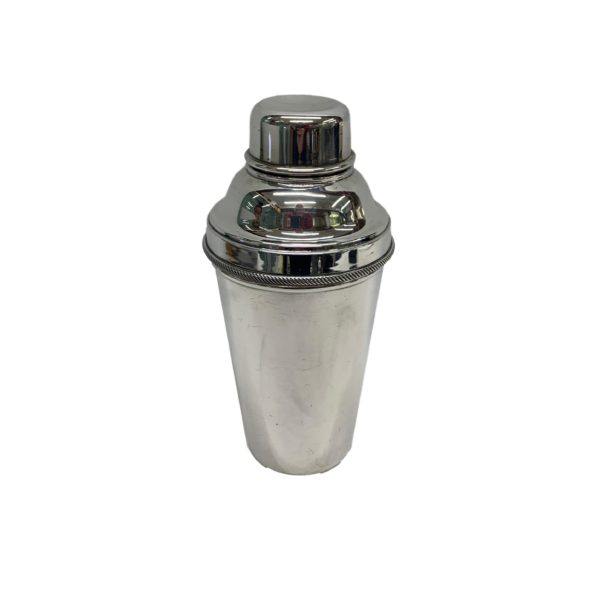 Plain Silver Cocktail Shaker